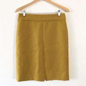 •J. Crew Wool Pencil Skirt•